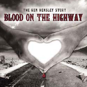 Blood on the highway book cover