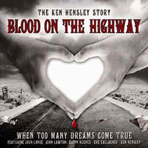 Blood on the highway album cover